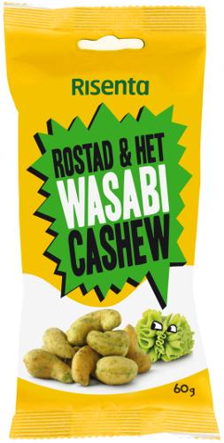 Risenta Cashewnötter Wasabi