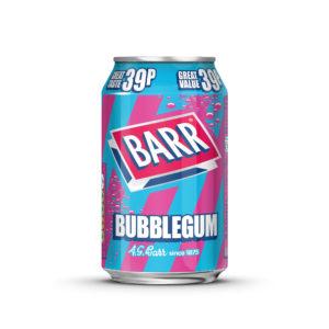Barr Bubblegum läsk