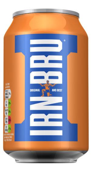 IrnBru läsk från Skottland