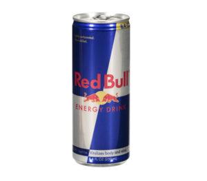 Red Bull energidryck på burk