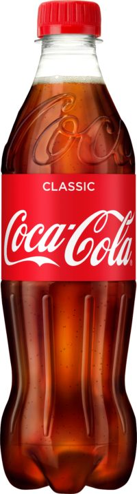 Coca-Cola läsk 50cl PET