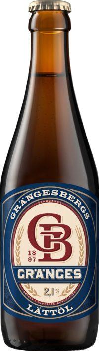 Grängesbergs Lättöl på glasflaska