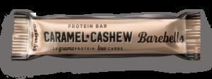 barebell proteinbar caramel cashew för träning och hälsa