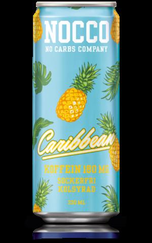 Nocco Caribbean kolsyrad energidryck