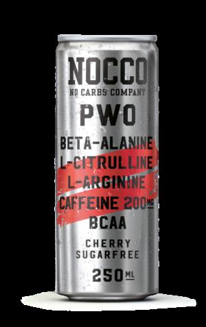 Nocco PWO sockerfri energidryck för pre-workout