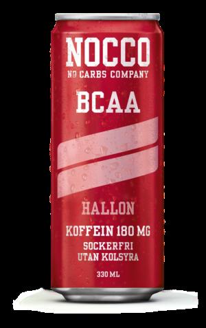 Nocco Hallon BCAA protein och energidryck utan kolsyra