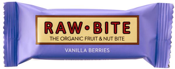 Rawbite Vanilla Berries frukt och nötbar