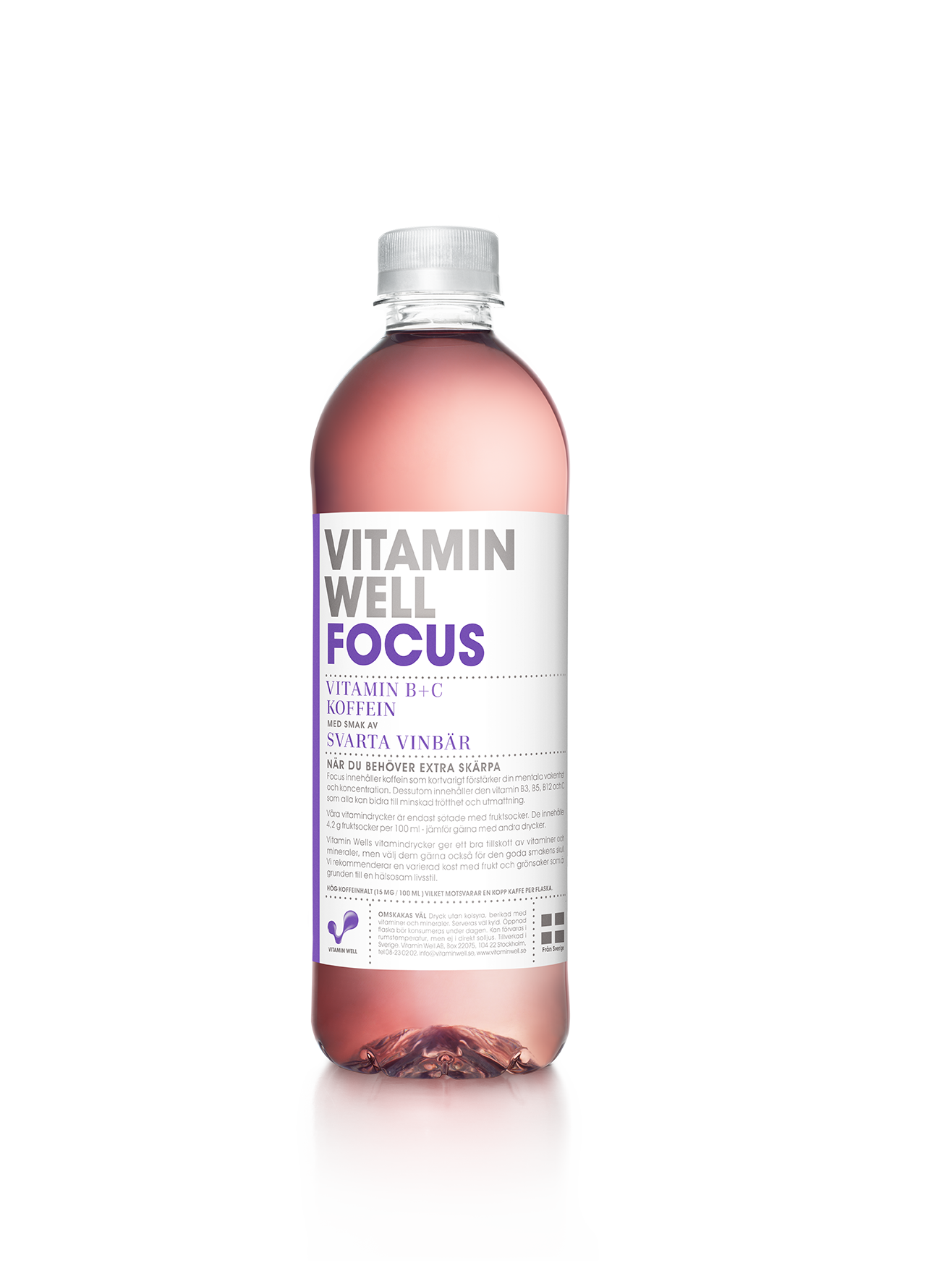 Vitamin Well Focus funktionsdryck