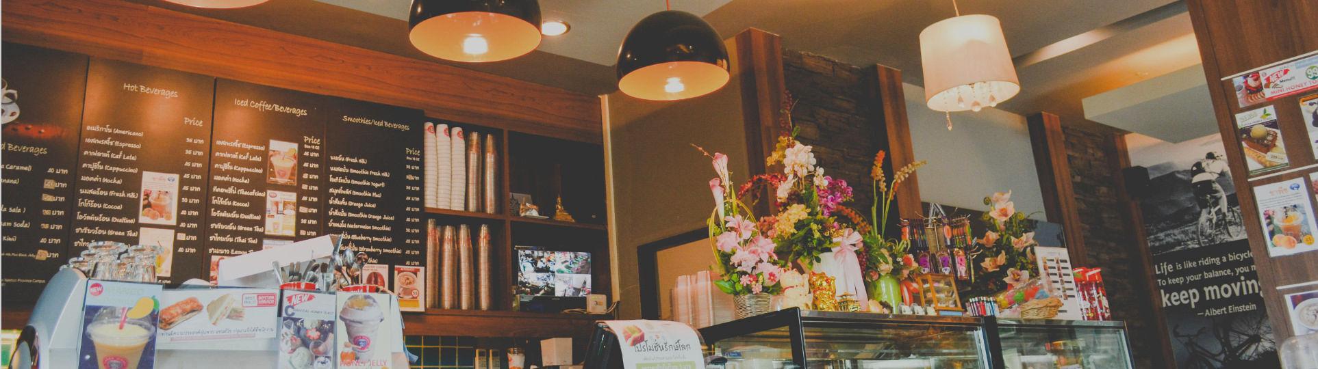 Läsk, vatten och måltidsdryck för café och restaurang