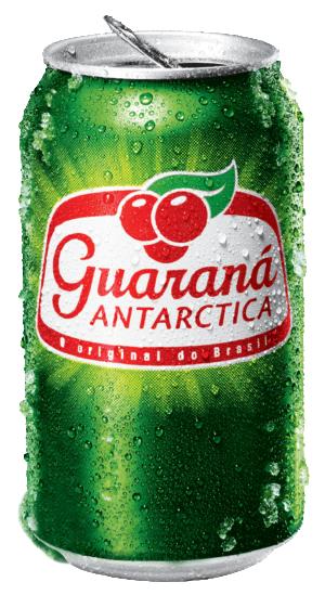 Guarana Antarctica energidryck från brasilien