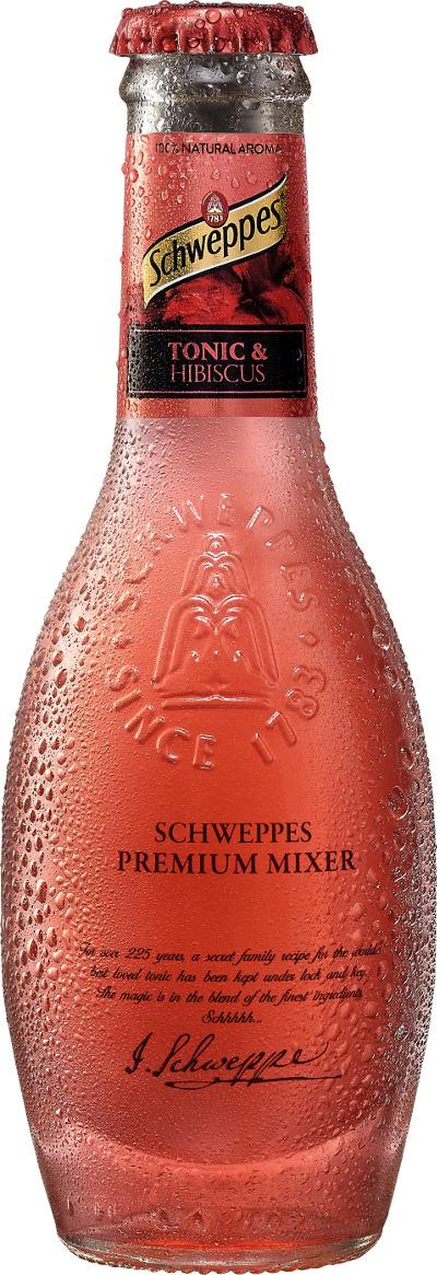 Schweppes Premium Mix Tonic/Hibiscus 20 EG