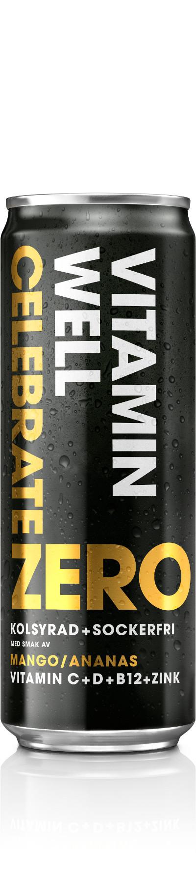 Vitamin Well Celebrate Zero 35,5 B