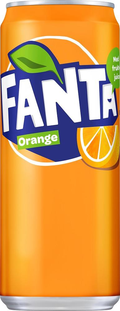 Fanta Apelsin 33 B Sleek