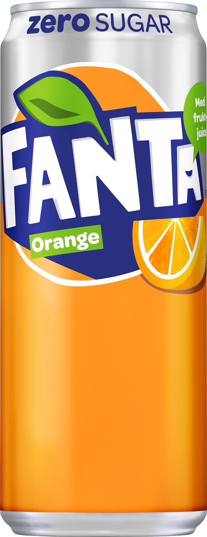 Fanta Apelsin Zero 33 B Sleek