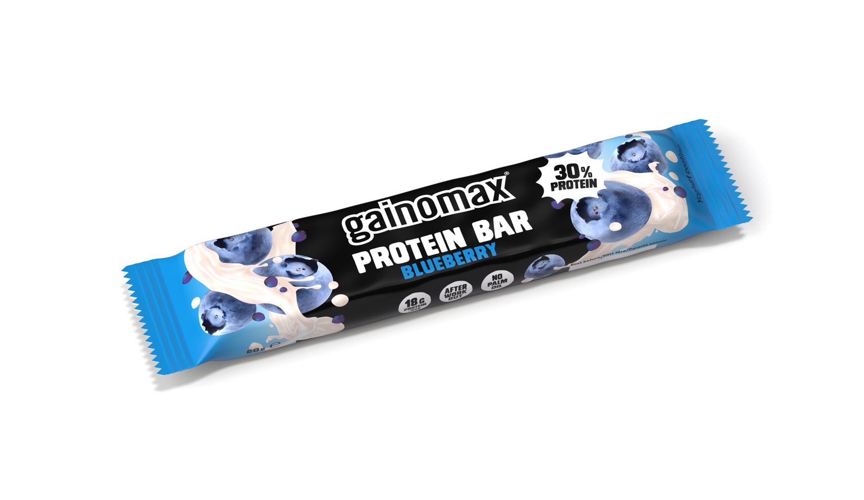 Gainomax Proteinbar Blueberry 60g