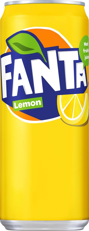 Fanta Lemon 33 B Sleek