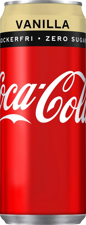 Coca-Cola Zero Vanilla 33 B Sleek