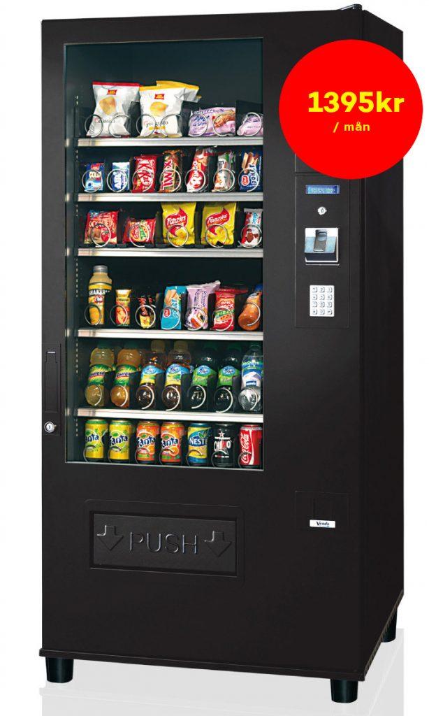 hyr dryckesautomat hos Hemberga
