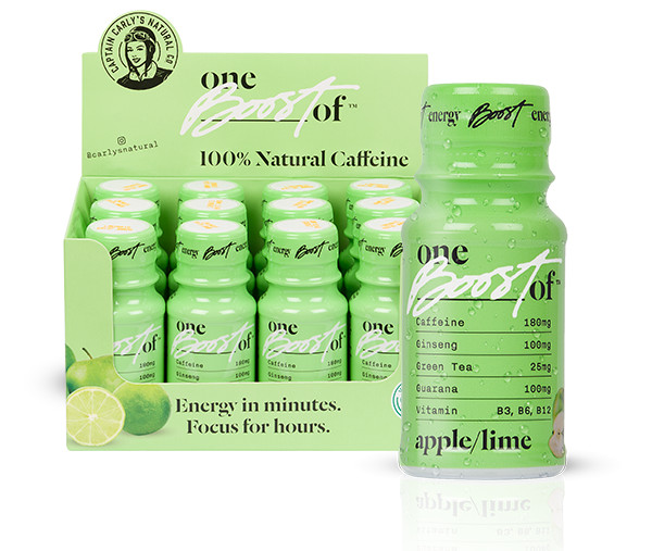 Boost Energy Apple/Lime 60ml EP