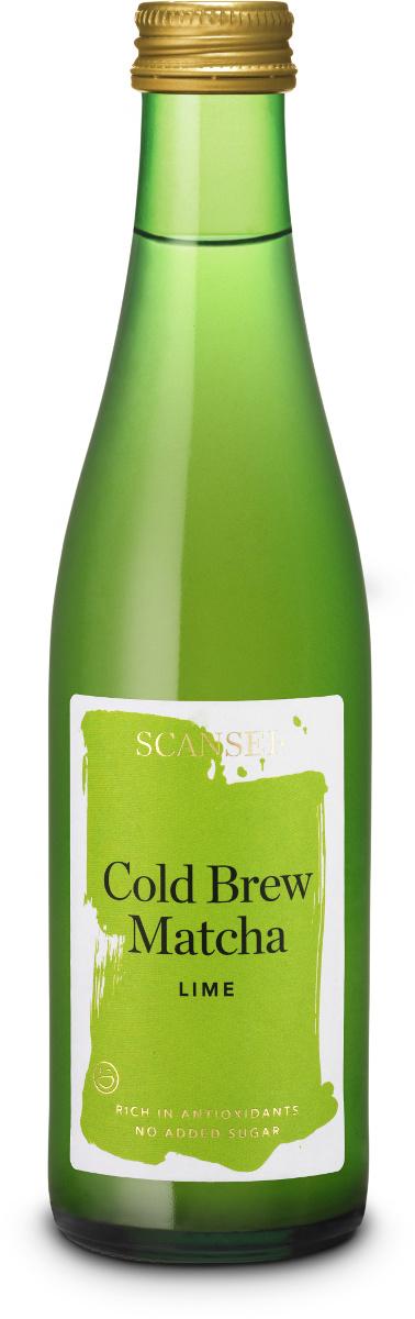 Scaensei Matcha Cold Brew Lime 25 EG