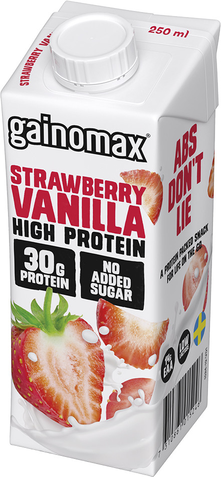 Gainomax High Protein Strawberry-Vanilla 25 TP