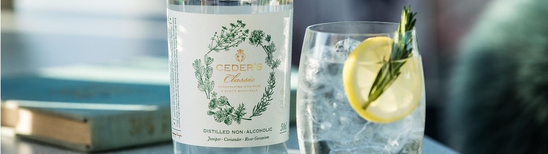 Ceder's Gin Classic Alkoholfri 50 EG