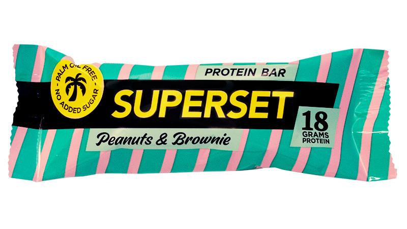 Superset Peanuts & Brownie 55g