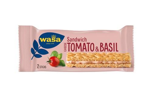 Wasa Sandwich Cheese/Tomato & Basil 40g